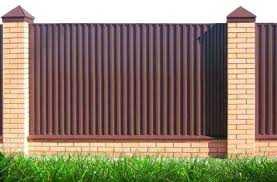 забор из профнастила в Симферополе