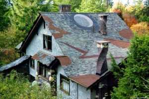 крыша сложной формы из мягкой черепицы в Севастополе