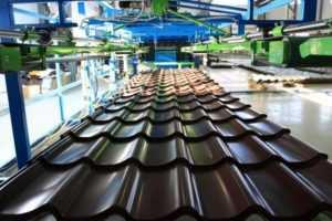 Завод металлочерепицы в Симферополе