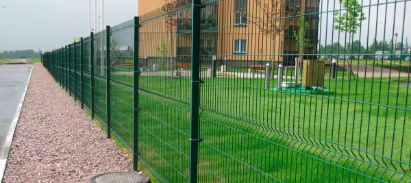 3д забор в многоквартирном жилом комплексе в Судаке