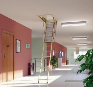 чердачные лестницы в интерьере офисного здания