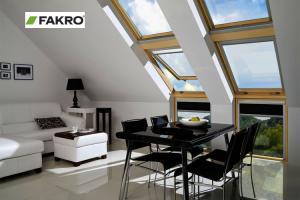 мансардные окна Fakro в интерьере