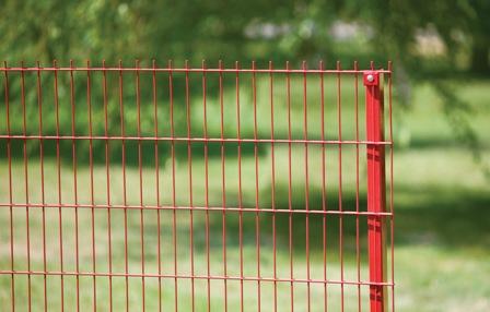 3Д-забор цветной