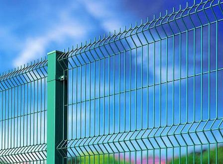 сетчатый 3д-забор