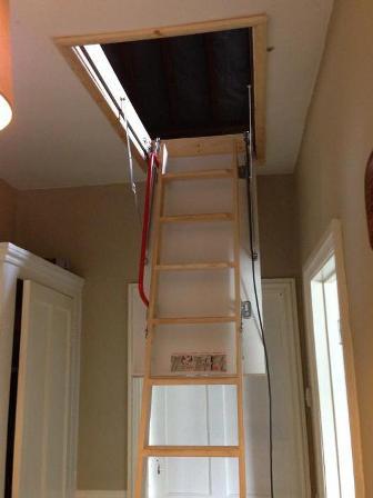деревянная лестница ФАКРО