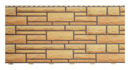 фасадная панель с имитацией фактуры камня