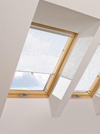 мансардные окна Факро на чердаке
