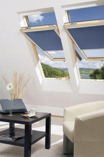 мансардные окна Факро в интерьере