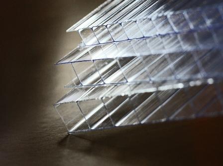 Прозрачный сотовый поликарбонат