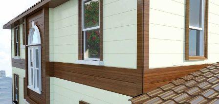 виниловый сайдинг - пример облицовки дома