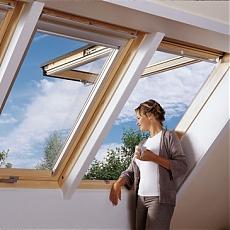 мансардные окна Велюкс в интереьере